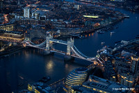 Tower bridge (View from The Shard